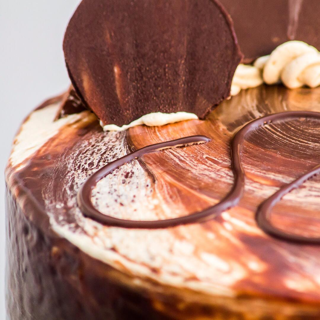 Experience Decadent Excellence with the limnosbakers Chocolate Hazel Cake