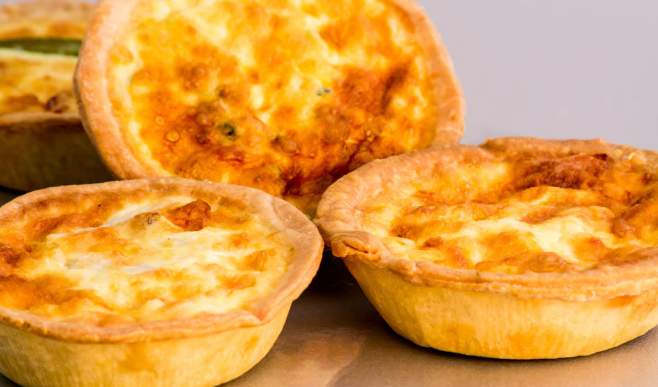 Assorted-quiches