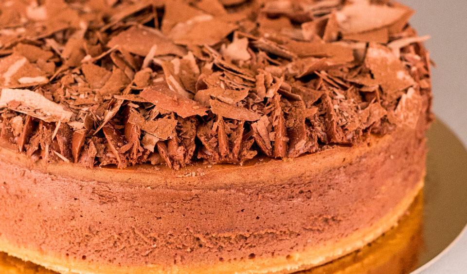 choc-cheesecake